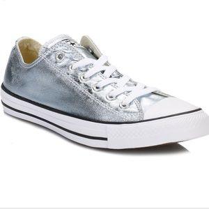 3879230096cb85 Converse Shoes - Metallic blue converse -something blue 💍